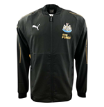 2018-2019 Newcastle Puma Leisure Jacket (Black)