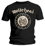 Motorhead Men's Tee: Undercover Seal Newsprint