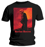 Marilyn Manson Men's Tee: Mad Monk