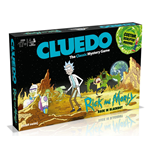 Rick and Morty Board Game Clue Back in Blackout *English Version*