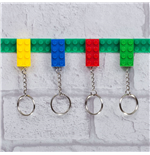 Keychain 4-Pack Key Bricks