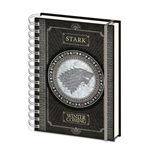 Game of Thrones Wiro Notebook A5 Stark