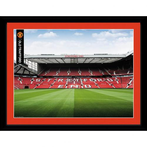 Manchester United F.C. Picture Stretford End 16 x 12