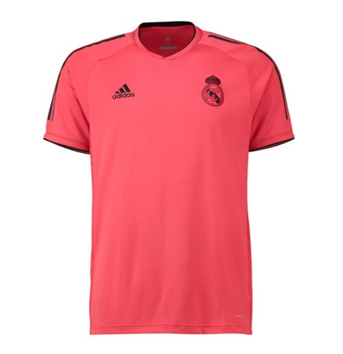 Buy Official 2018-2019 Real Madrid Adidas UCL Training Shirt (Red) 5e73ce201