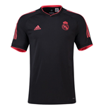 2018-2019 Real Madrid Adidas UCL Training Shirt (Black)