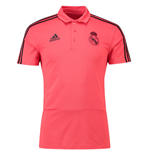 2018-2019 Real Madrid Adidas UCL Polo Shirt (Red)