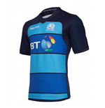 2018-2019 Scotland Macron Rugby Training Jersey (Blue)