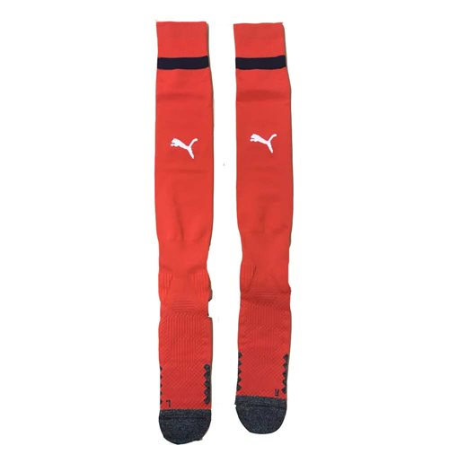 2018-2019 Arsenal Away Football Socks Red