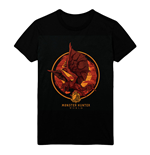 MONSTER HUNTER Screaming Rathalos T-Shirt, Male, Extra Extra Large, Black