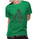 Nintendo - Zelda Triforce - Unisex T-shirt Green