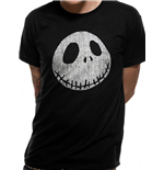 Nightmare Before Christmas - Jack Cracked Face - Unisex T-shirt Black