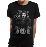 Lord Of The Rings - Walk Into Mordor - Unisex T-shirt Black