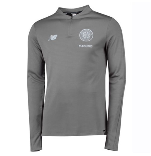 2018-2019 Celtic Midlayer Training Top (Grey)