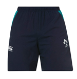 2018-2019 Ireland Rugby 8 Inch Woven Gym Shorts (Navy)