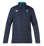 2018-2019 Ireland Rugby Thermoreg Padded Jacket (Navy)