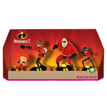 Incredibles 2 Gift Box with 4 Figures 4-9 cm