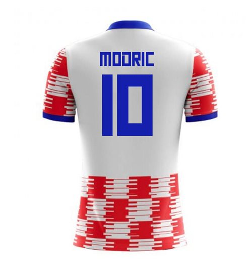 2018-19 Croatia Home Concept Shirt (Modric 10) - Kids