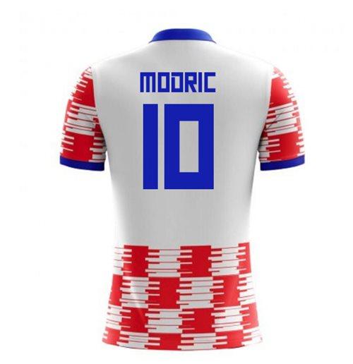 20644d6e4 Buy Official 2018-19 Croatia Home Concept Shirt (Modric 10) - Kids