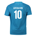 2018-19 Zenit St Petersburg Home Shirt (Arshavin 10)
