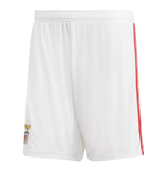 2018-2019 Benfica Adidas Home Shorts (White)