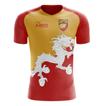 2018-2019 Bhutan Home Concept Football Shirt
