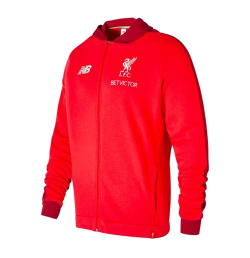 2018-2019 Liverpool Mens Elite Leisure Hoody (Red)