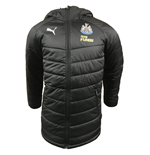 2018-2019 Newcastle Puma Bench Jacket (Black)