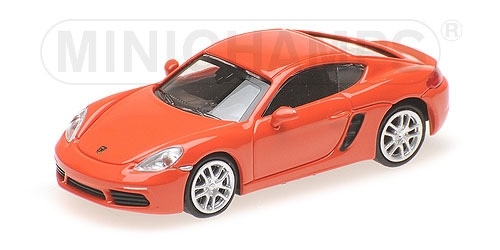 PORSCHE 718 CAYMAN ORANGE 2016