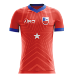2018-2019 Chile Home Concept Football Shirt
