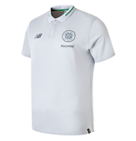 2018-2019 Celtic Elite Leisure Essential Polo Shirt (Silver)