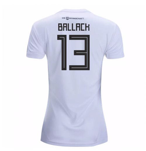 2018-19 Germany Home Womens Shirt (Ballack 13)