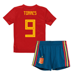 2018-19 Spain Home Mini Kit (Torres 9)