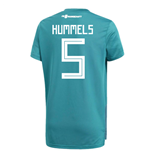 2018-19 Germany Away Training Shirt (Hummels 5)