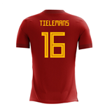2018-2019 Belgium Airo Concept Home Shirt (Tielemans 16) - Kids