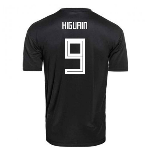 2018-2019 Argentina Away Adidas Football Shirt (Higuain 9)