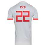 2018-2019 Spain Away Adidas Football Shirt (Isco 22) - Kids