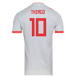 2018-2019 Spain Away Adidas Football Shirt (Thiago 10)