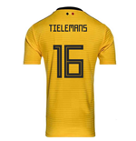2018-2019 Belgium Away Adidas Football Shirt (Tielemans 16) - Kids