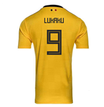 2018-2019 Belgium Away Adidas Football Shirt (Lukaku 9)