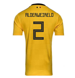 2018-2019 Belgium Away Adidas Football Shirt (Alderweireld 2) - Kids