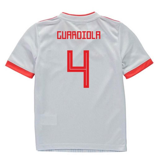 2018-2019 Spain Away Adidas Mini Kit (Guardiola 4)