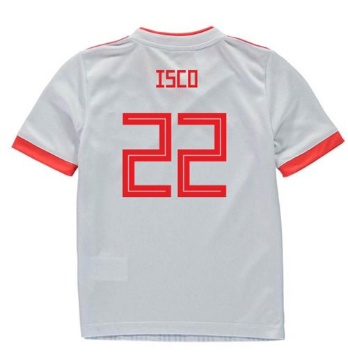 2018-2019 Spain Away Adidas Mini Kit (Isco 22)