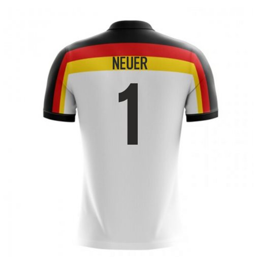 2018-2019 Germany Home Concept Football Shirt (Neuer 1) - Kids