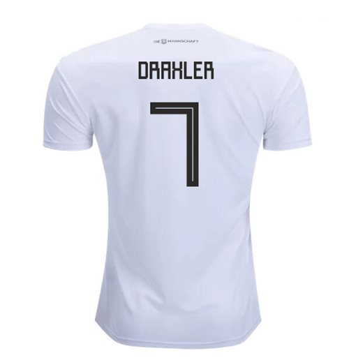 2018-2019 Germany Home Adidas Football Shirt (Draxler 7)