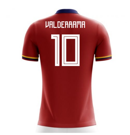 2018-2019 Colombia Away Concept Football Shirt (Valderrama 10) - Kids