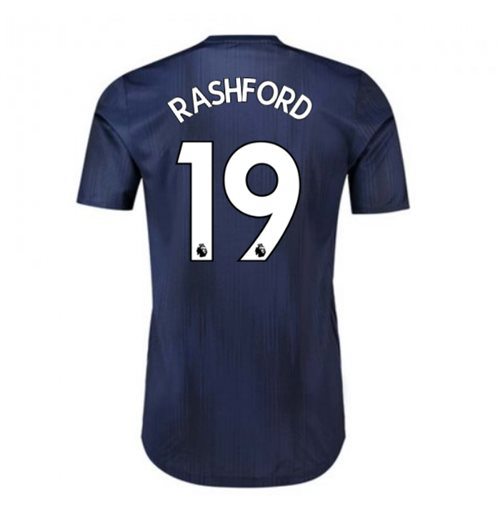 2018-2019 Man Utd Adidas Third Adi Zero Football Shirt (Rashford 19)