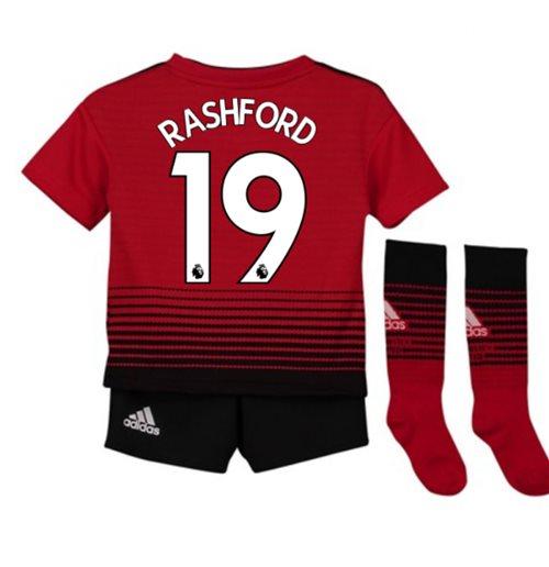 4f3d35301 Buy 2018-2019 Man Utd Adidas Home Little Boys Mini Kit (Rashford 19)