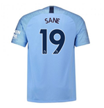 2018-2019 Man City Home Nike Football Shirt (Sane 19)