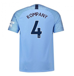 2018-2019 Man City Home Nike Football Shirt (Kompany 4) - Kids