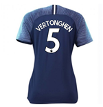 2018-2019 Tottenham Away Nike Ladies Shirt (Vertonghen 5)